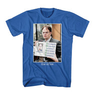 The Office Dwight determined worker intense terrific Color Adult T-Shirt Tee