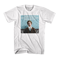 Napoleon Dynamite Comedy Movie Get Out Of My Life White Adult T-Shirt Tee