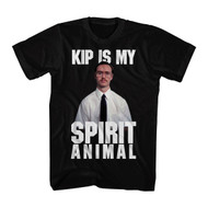 Napoleon Dynamite Comedy Movie Kip Spirit Black Adult T-Shirt Tee