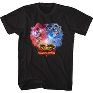 Street Fighter Gaming Champion Edition Adult Short Sleeve T-Shirt Graphic Tee