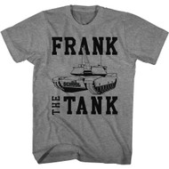 Old School Movie Frank The Tank Adult Short Sleeve T-Shirt Graphic Tee