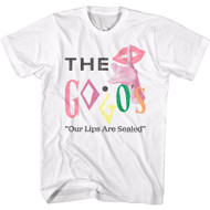 The Go Go's 80s Band Our Lips Are Sealed Adult Short Sleeve T-Shirt Graphic Tee