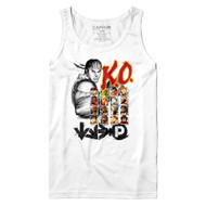 Street Fighter Video Game Ryu KO2 Characters Adult Tank Top Shirt