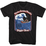 Jaws Movie Thriller You're Gonna Need a Bigger Boat Adult T-Shirt Graphic Tee
