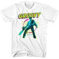 Army of Darkness 90s Horror Movie Groovy Adult Short Sleeve T-Shirt Graphic Tee