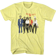 The B52s Band Retro Band Photo Adult Short Sleeve T-Shirt Graphic Tee