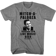Old School Movie Mitch-A-Palooza Adult Short Sleeve T-Shirt Graphic Tee