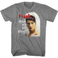 Old School Movie Frank What Are You Doing Adult Short Sleeve T-Shirt Graphic Tee