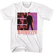 Halloween Movie Michael Myers The Night He Came Home Adult Short Sleeve T-Shirt Tee