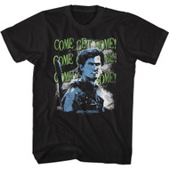 Army Of Darkness Movie Ash Williams Come Get Some Adult Short Sleeve T-Shirt Tee