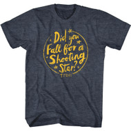 Train Rock Band Did You Fall For A Shooting Star Adult Short Sleeve T-Shirt Graphic Tee