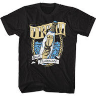 Train Rock Band Message In A Bottle San Francisco Adult Short Sleeve T-Shirt