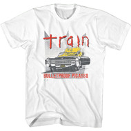 Train Rock Band Bulletproof Picasso Adult Short Sleeve T-Shirt Graphic Tee