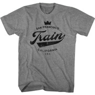 Train Rock Band San Francisco California Adult Short Sleeve T-Shirt Graphic Tee