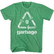 Garbage Band Recycle Garbage Image Adult Short Sleeve T-Shirt Graphic Tee