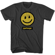 Garbage Band I'm Only Happy When It Rains Front & Back Print Adult Short Sleeve T-Shirt