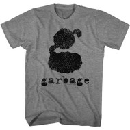 Garbage Rock Band The Big G Logo Adult Short Sleeve T-Shirt Graphic Tee