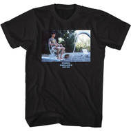 Ferris Bueller's Day Off Movie Cameron Diving Board Adult Short Sleeve T-Shirt