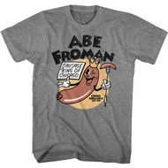 Ferris Bueller's Day Off Abe Froman Sausage King of Chicago Adult Short Sleeve T-Shirt