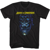 Army of Darkness Horror Comedy Movie Evil Ash Adult Short Sleeve T-Shirt Graphic Tee