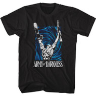 Army of Darkness Horror Comedy Movie Ash Williams Adult Short Sleeve T-Shirt Graphic Tee