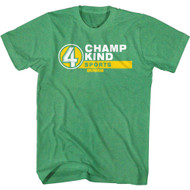 Anchorman Movie Champ Kind Sports Adult Short Sleeve T-Shirt Graphic Tee