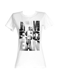 James Dean 1950's American Heartthrob Icon Vintage Style NYC Cut Outs Jrs Tshirt