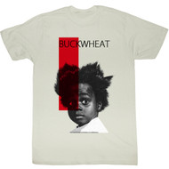 Our Gang Little Rascals 1930's Comedy Buckwheat Red Stripe Adult Tshirt