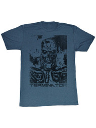 Terminator 1980's SciFi Action Movie Vintage Style Cyborg Poster Adult T-Shirt