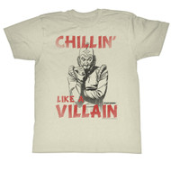 Flash Gordon 30's Comic Strip Vintage Style Chillin Like a Villain Adult T-Shirt