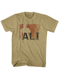 Muhammad Ali 60's The Greatest American Boxer Vintage Style Ali Adult T-Shirt