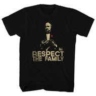 Godfather 1970's Mafia Mobster Movie Vito Corleone Respect Adult T-Shirt