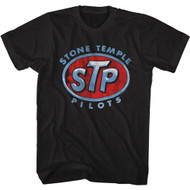 Stone Temple Pilots Rock Band Logo Adult Short Sleeve T-Shirt Graphic Tee