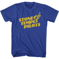 Stone Temple Pilots Rock Band Flying Discs Adult Short Sleeve T-Shirt Graphic Tee