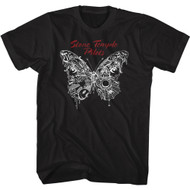 Stone Temple Pilots Rock Band Butterfly 2018 Album Adult Short Sleeve T-Shirt