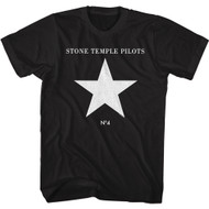 Stone Temple Pilots Rock Band Number 4 Album Cover Adult Short Sleeve T-Shirt