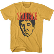 Scareface 80s Movie Tony Montana Sketch Adult Short Sleeve T-Shirt Graphic Tee