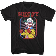 Killer Klowns From Outer Space 80s Movie Shorty Adult Short Sleeve T-Shirt