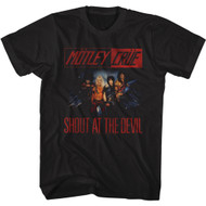 Motley Crue Rock Band Shout at The Devil Adult Short Sleeve T-Shirt Graphic Tee