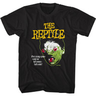 Hammer Horror The Reptile Movie Adult Short Sleeve T-Shirt Graphic Tee