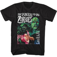 Hammer Horror The Plague Of The Zombies Adult Short Sleeve T-Shirt Graphic Tee