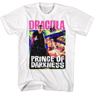 Hammer Horror Dracula Prince of Darkness Poster Adult Short Sleeve T-Shirt Tee