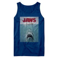 Jaws Horror Film Movie Poster Adult Tank Top Graphic Tank
