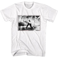 Bush Rock Band Gavin Rossdale Playing Guitar Adult Short Sleeve T-Shirt Graphic Tee