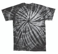 Faded Cyclone Scattered Pattern Design Unisex Adult Tie Dye T-Shirt Tee