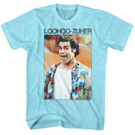 Ace Ventura 1994 Comedy Movie Jim Carrey Loohoo-Zuher Distressed Adult T-Shirt