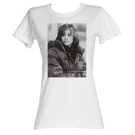 Breakfast Club 1985 Comedy Drama Movie Allison BW Photo White Ladies T-Shirt