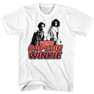 Ace Ventura 1994 Comedy Jim Carrey Found Captain Winkie White Adult T-Shirt