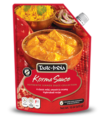 Taste of India Korma Simmer Sauce 450g (sold in boxes of 6)