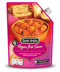 Taste of India Rogan Josh Simmer Sauce 450g (sold in boxes of 6)